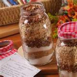 Cookie Mix Gifts in a Jar