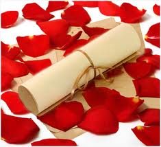 Manuscript of love