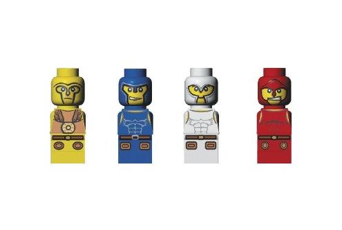LEGO Minotaurus microfigs