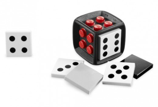 LEGO's buildable dice