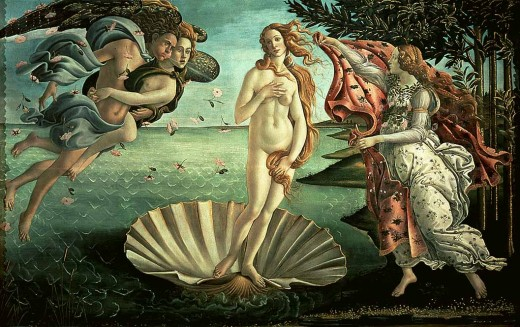 The Birth of Venus, by Sandro Botticelli. Is this an example of what Savonarola would have burnt in the Bonfire of the Vanities?