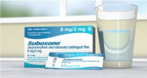 Suboxone Film - Placed under the tongue