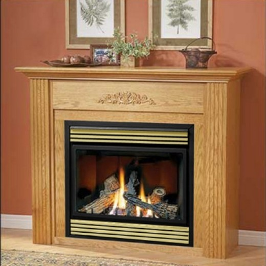 Modern gas fireplace inserts for ventless for Contemporary ventless gas fireplace