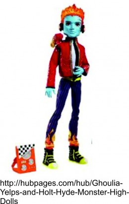 Holt Hyde Monster High Doll