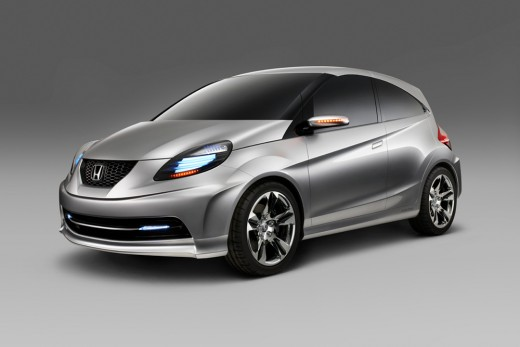 The Honda New Small Car 2013