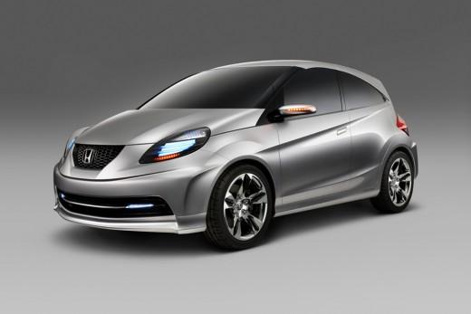 The Honda New Small Car 2013