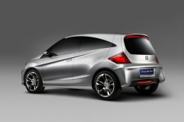 Honda New Small Car - Rear View
