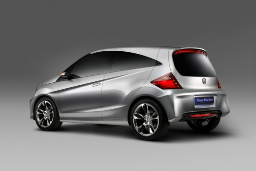 Honda New Small Car - Rear View