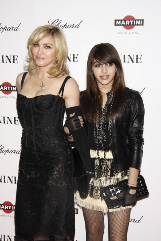 Madonna and daughter Lourdes Leon arrive at Macys on August 3rd to launch their new line--MATERIAL GIRL.
