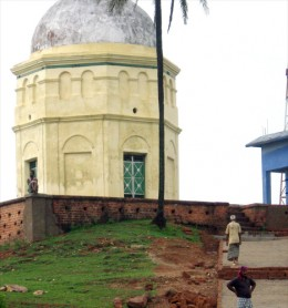 Pir-baba's tomb on the Hill-top