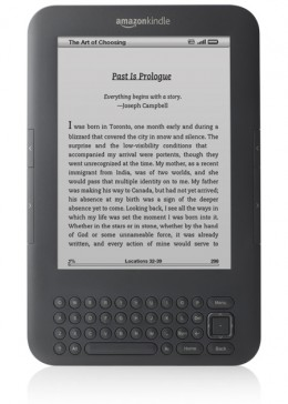 "Amazon Kindle Wireless Reading Device, Wi-Fi, 6"" Display, Graphite - Latest Generation"