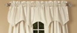 Pointed Window Valance