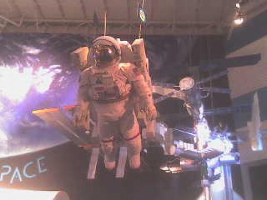 astronaut's space suit