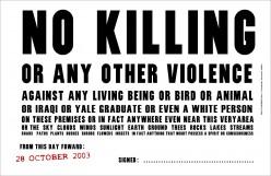 When Is It Ok To Kill?