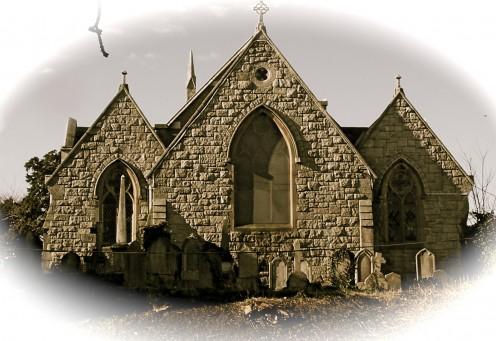 An Eery Graveyard