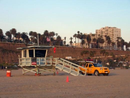 An LA Beach