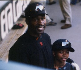 Shawon Dunston and son