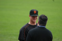 Matt Cain, shortly after he was called up