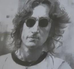 The tinted Windsor glasses of John Lennon