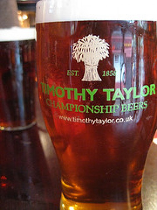 A pint of Taylors