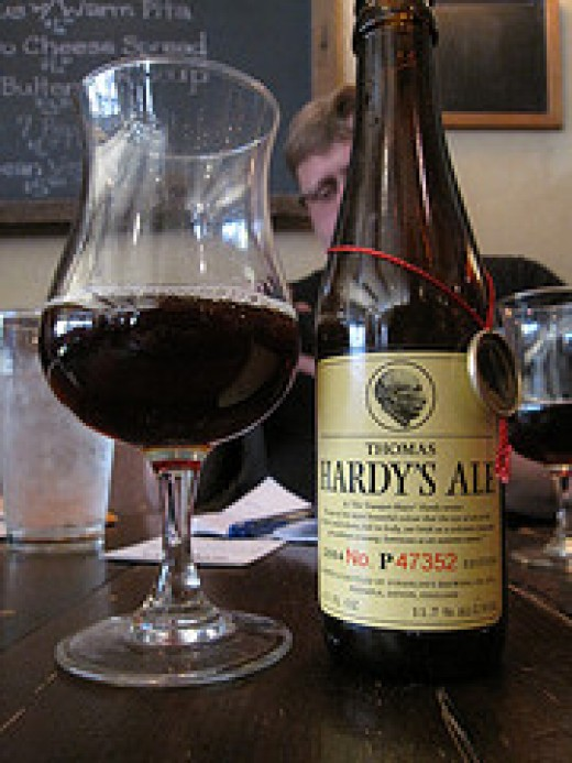 Thomas Hardy's Ale - a classic  barley wine strong ale