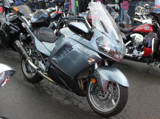 A beautiful Kawasaki 1400 GTR