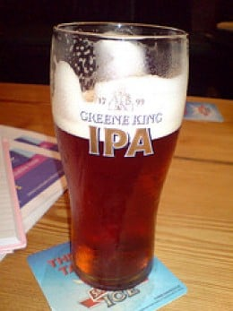 Greene King IPA, The Greene King brewery is famous in England and was started by the family of author Graham Greene