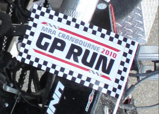 Cranbourne GP Run 2010