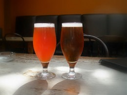 Meantime Raspberry Ale and Pale Ale
