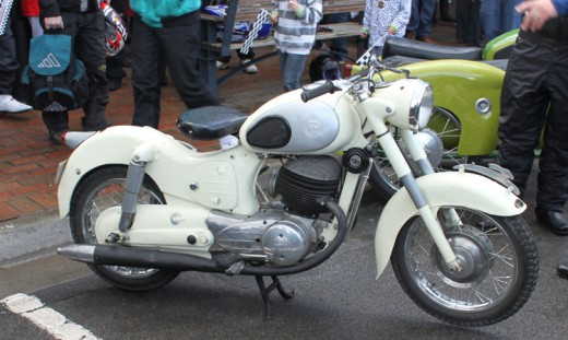 Puch Motor Cycle. I'm not sure of the vintage.