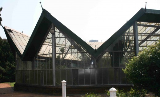 A view of the 1974 florarium