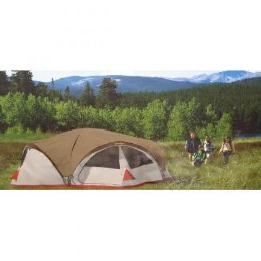 Cascade 3 Room Family Dome Tent