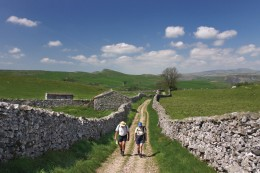 Walking in the Dales in England