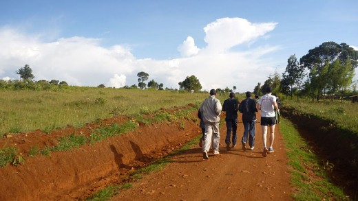 Long-distance Jogging in East Africa