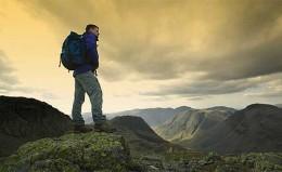 Walking in the Hills, U.K.