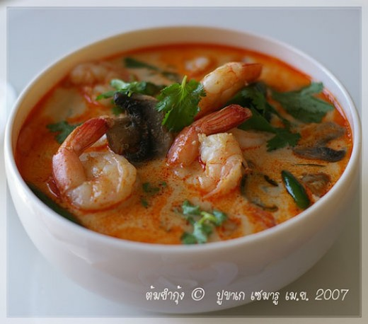 Thai Food Recipe Tom Yum Goong