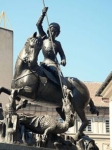 Statue of Saint George and the Dragon