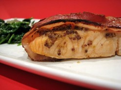 Bacon-Wrapped Ranch Salmon Fillet Recipe