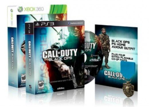Call of duty black ops special avatar gift with Xbox live or PS3