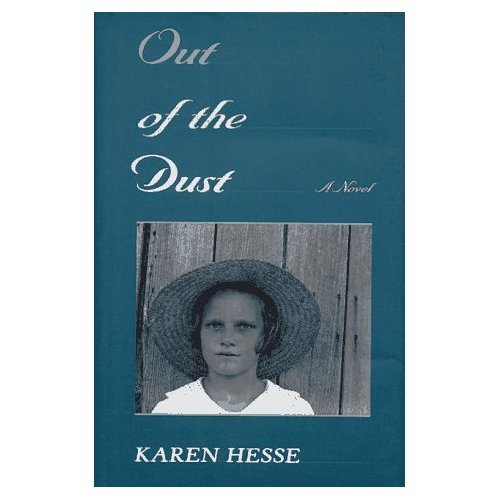 Out of the Dust by Karen Hesse book cover