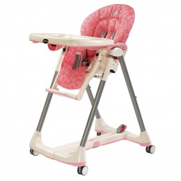 Peg Perego Prima Pappa Diner in Naif Rose colorway