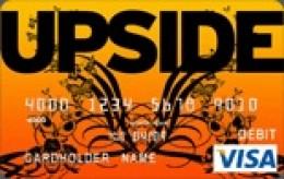 Upside Butterfly Visa Card