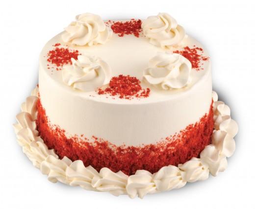 Baskin-Robbins Red Velvet Cake