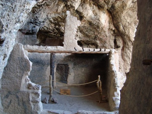 Some things must be seen but not touched. The care of cliff dwellings is extensive.