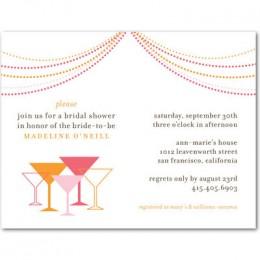 wedding shower invitations on a budget