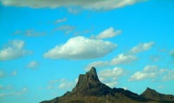 A poetic and pictorial view of our drive from El Paso Texas to to Mesa Arizona.