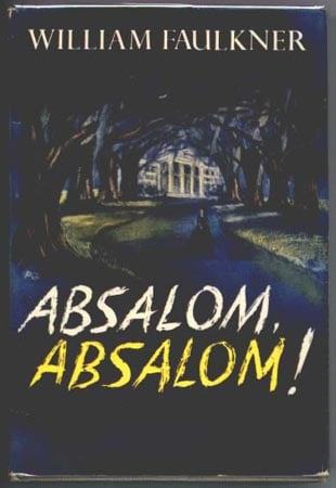 First published in 1936, Absalom, Absalom! takes its name, and much of the substance of its story, from the Bible.  Specifically, 2 Samuel 13 in the Old Testament.