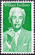 Faulkner's very own stamp.