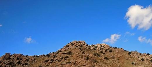 Ne Mexico rock formations