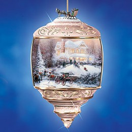 Christmas Music Box Ornament